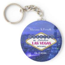 Las Vegas Wedding Keychain
