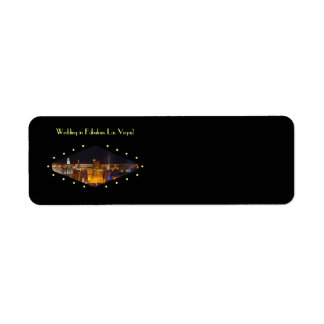 Las Vegas Wedding Label