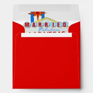 Las Vegas Wedding Lucky Red Envelope
