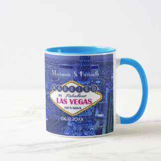 Las Vegas Wedding Mug