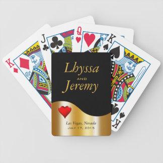 Las Vegas Wedding Party Poker Deck