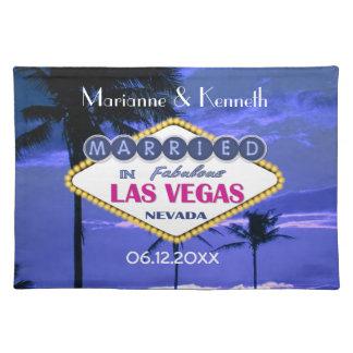 Las Vegas Wedding Placemat
