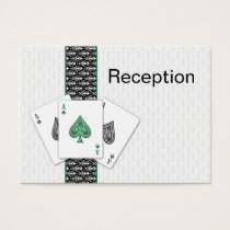 Las Vegas wedding Reception  Cards