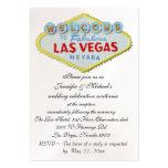 Las Vegas Wedding Reception Enclosure Business Card Template