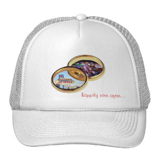Las Vegas Wedding Rings, happily ever after... Cap Trucker Hat