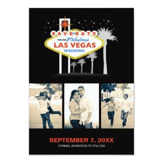 Las Vegas Wedding Save-the-date Card