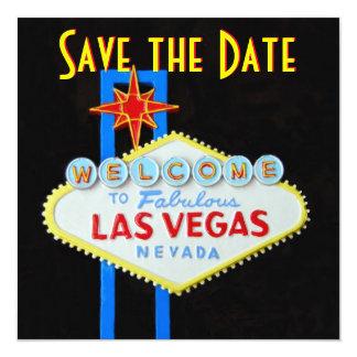 Las Vegas Wedding Save the Date Invitation