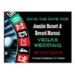 Las Vegas Wedding Save The Date Post Card