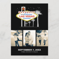 Las Vegas Wedding Save-the-date Save The Date