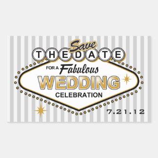 Las Vegas Wedding STD Sticker