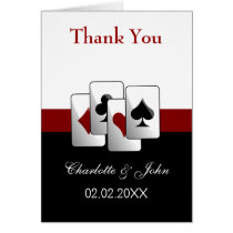 Las Vegas Wedding Thank You cards