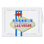 Las Vegas Wedding Thank You notes Cards