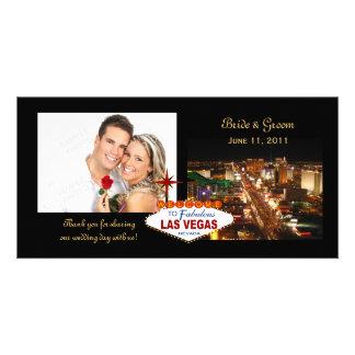 Las Vegas Wedding Thank You Photo Cards