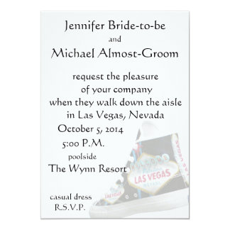Las Vegas Wedding : walk down the aisle Card