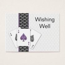 Las Vegas Wedding wishing well cards