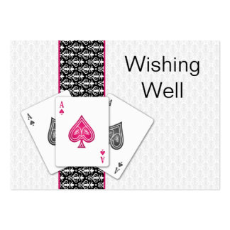 Las Vegas Wedding wishing well cards Business Cards
