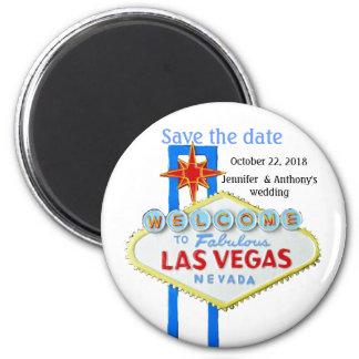 Las Vegas Weddings 2 Inch Round Magnet