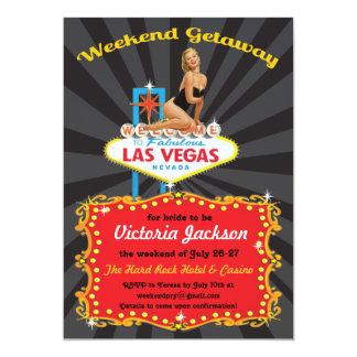 Las Vegas Weekend Getaway Party Invitations