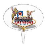 Las Vegas Welcome Sign Cake Pick