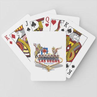 Las Vegas Welcome Sign Card Decks