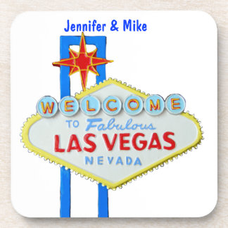 Las Vegas Welcome Sign Coasters