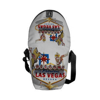 Las Vegas Welcome Sign Courier Bag