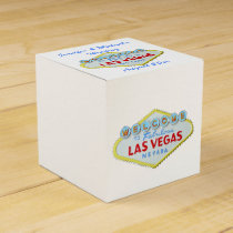Las Vegas Welcome Sign Favor Box