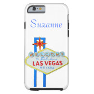 Las Vegas Welcome Sign for Phones Tough iPhone 6 Case
