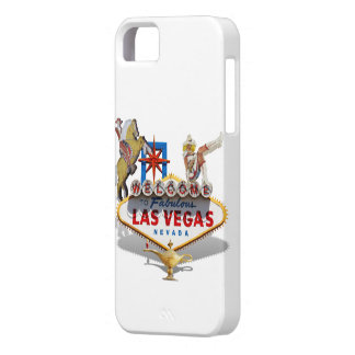 Las Vegas Welcome Sign iPhone SE/5/5s Case