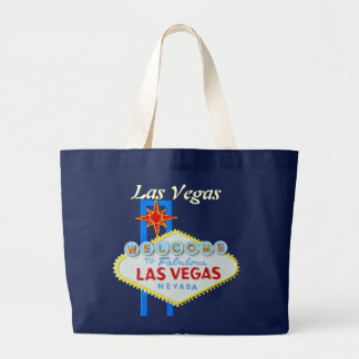 Las Vegas Welcome Sign Jumbo Tote Bag