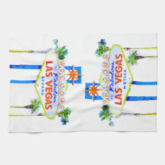 Las Vegas Welcome Sign Towel