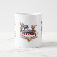 Las Vegas Welcome Sign Large Coffee Mug