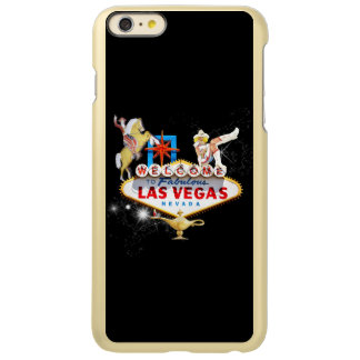 Las Vegas Welcome Sign On Starry Background Incipio Feather Shine iPhone 6 Plus Case