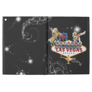 Las Vegas Welcome Sign On Starry Background iPad Pro Case
