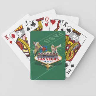 Las Vegas Welcome Sign Poker Cards