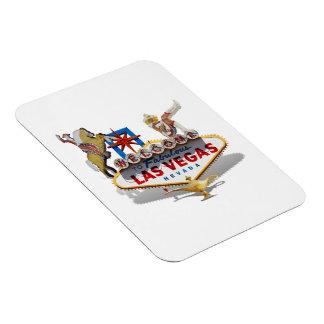 Las Vegas Welcome Sign Rectangular Photo Magnet