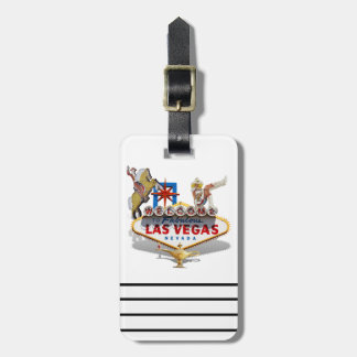 Las Vegas Welcome Sign Tag For Luggage