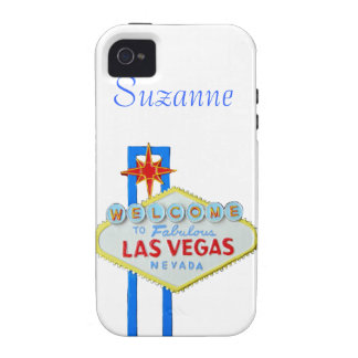 Las Vegas Welcome Sign Tough iPhone 4/4S Cover