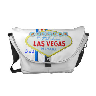 Las Vegas Welcome Sign  with your initials Commuter Bags