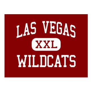 Las Vegas - Wildcats - High - Las Vegas Nevada Postcard