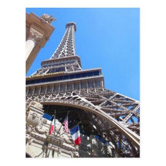 Las VegasParis Eiffel Tower Postcard