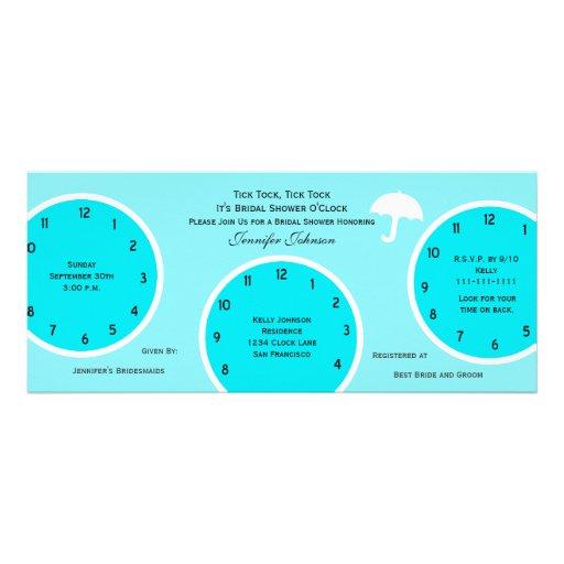 Las veinticuatro horas del día azul nupcial de la  invitaciones personales