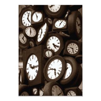 Las veinticuatro horas del día ducha nupcial de invitación 8,9 x 12,7 cm