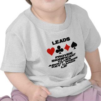 Las ventajas proporcionan pistas significativas so camiseta