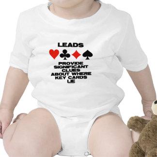 Las ventajas proporcionan pistas significativas so camisetas