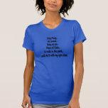Las ventas 4 juntan con te para mujer camiseta