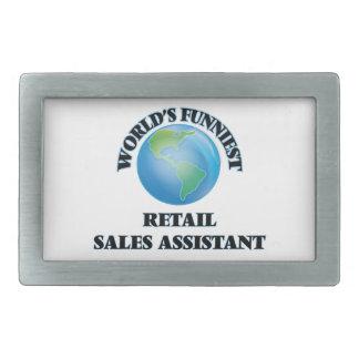 Las ventas al por menor más divertidas del mundo hebilla de cinturón rectangular