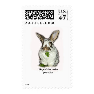 Las verduras le hacen más lindo timbres postales