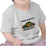 Las verduras son una necesidad en una dieta (la pi camiseta