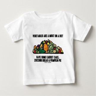 Las verduras son una necesidad en una dieta (la camiseta